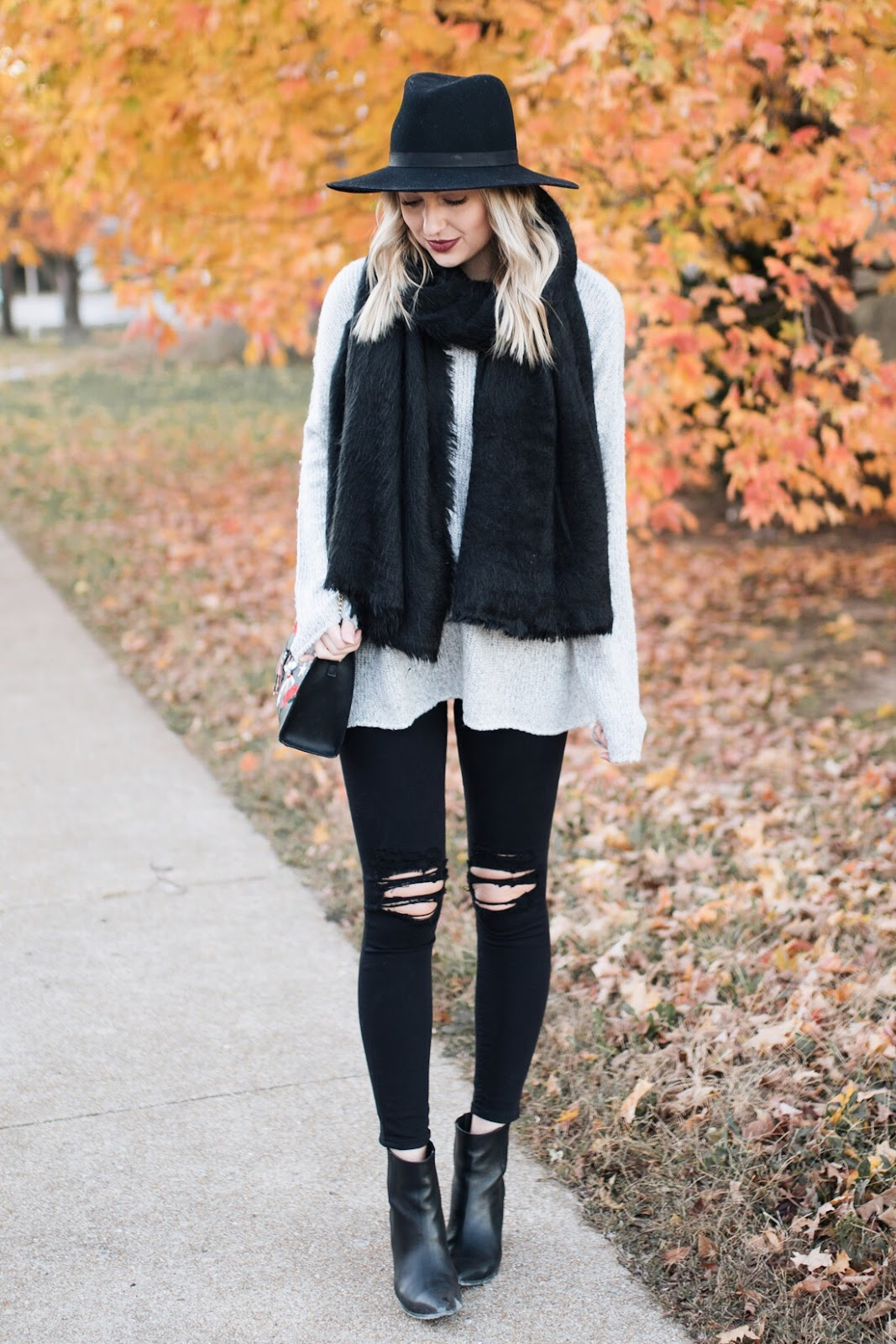 Cozy & casual fall outfit