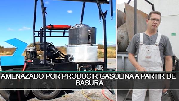 Amenazan con asesinar a la familia del Zacatecano que descubrió una forma más económica de producir gasolina