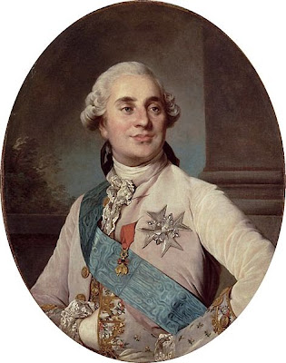 Portrait of Louis XVI by Joseph-Siffrein Duplessis , 1776