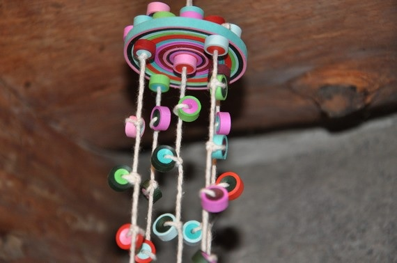 Simple Quilling Paper Chinmes Home Decoration