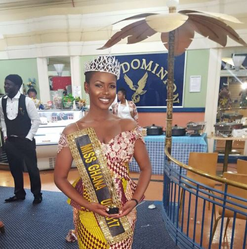 Sabina Awuni crowned Miss Ghana UK 2017