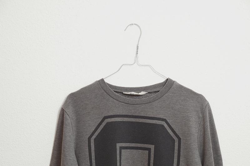 Dicke Pullover für den Herbst in Grau