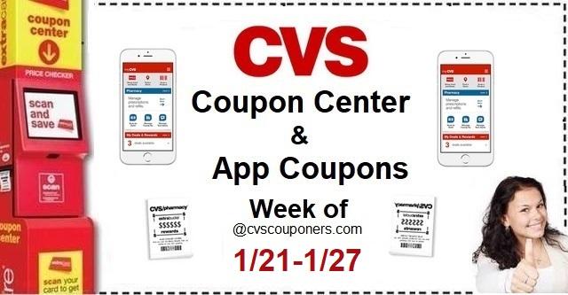 http://www.cvscouponers.com/2018/01/cvs-coupon-center-app-coupons-week-of_22.html
