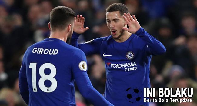 Hazard Bangga Di Chelsea Ada Striker Jangkung