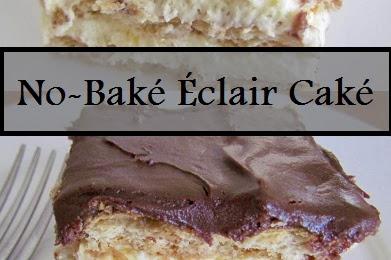 No-Baké Éclair Caké