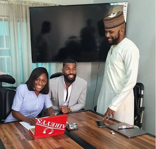 Banky W Signed Two Ex-Big Brother Naija Housemate; Mike & Wife Into  EME