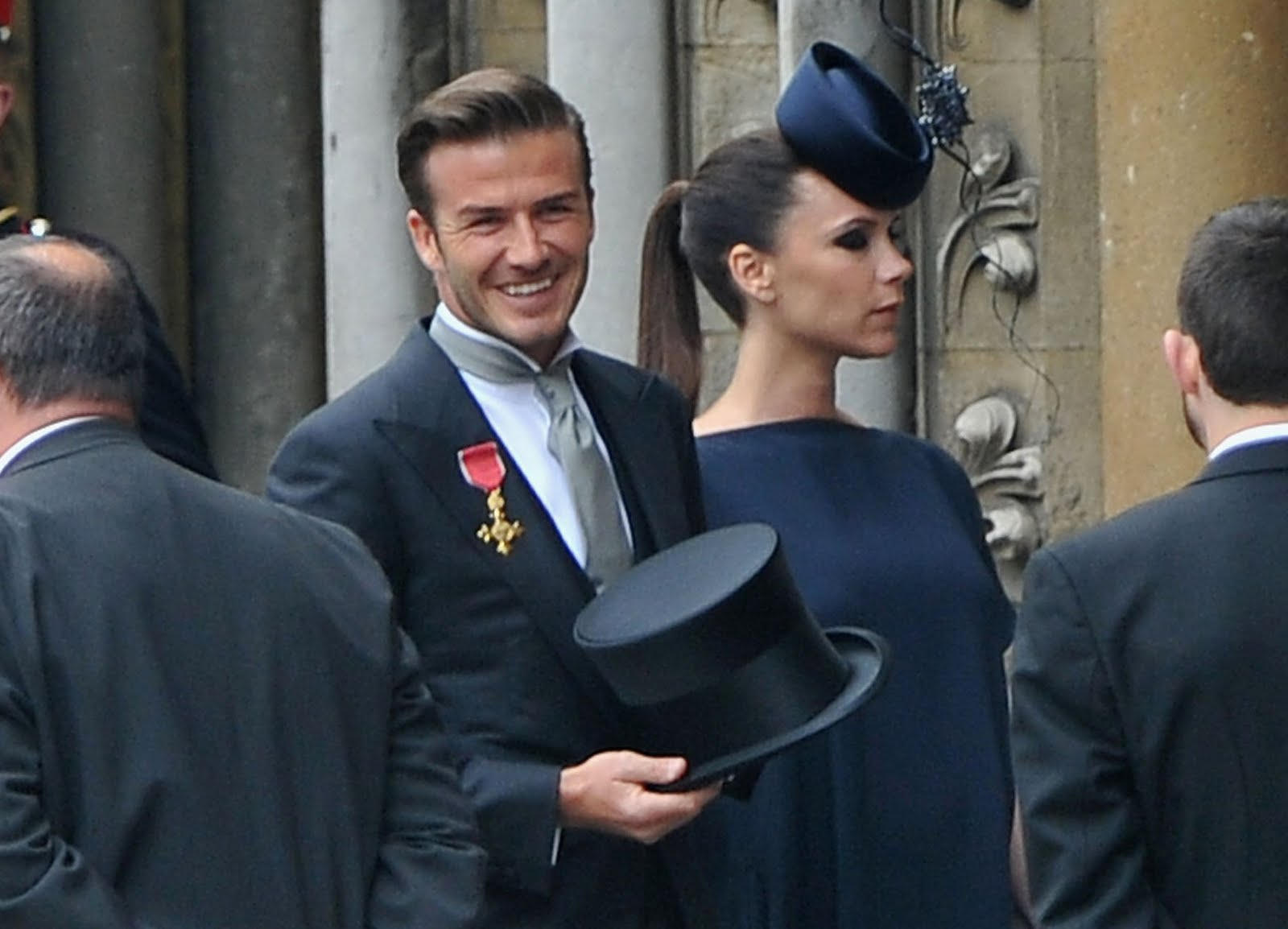 Photographs Of David Beckham And Victoria At Wedding Prince William With Kate Middleton