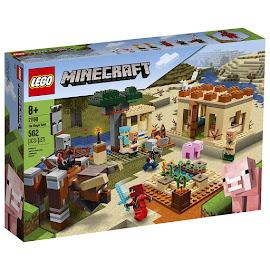 Minecraft The Illager Raid Lego Set