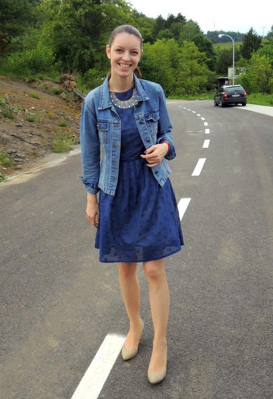 Mademoiselle IVA by Ivana Klepáčová  polka dots dress - outfit 2 1aec046de4c