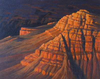 grand canyon art southwest painting km withers