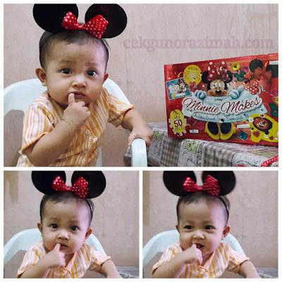 dhia zahra, bayi 9 bulan, ragam anak, parenting blogger