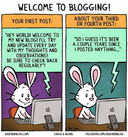 Hello Again...The Blogger Sin
