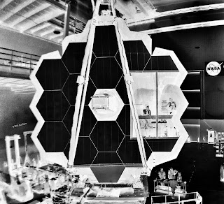 JWST, Sue Reno, Work in Progress, negative image