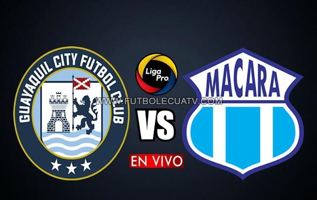 Guayaquil City se mide ante Macará en vivo por la fecha cuatro del torneo ecuatoriano con transmisión de GolTV Ecuador a realizarse en el reducto Christian Benítez, a partir de las 13h45 hora local con arbitraje principal de Jefferson Macías.
