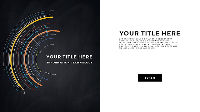 Technical Title and Background Free PowerPoint Template Slide 6