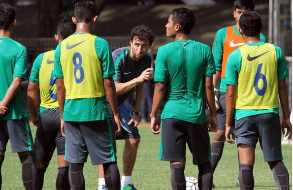 Luis Milla Timnas Indonesia U-23