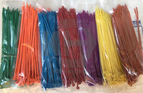dây thít nhựa màu 20cm đánh dấu gia cầm, phân loại hàng