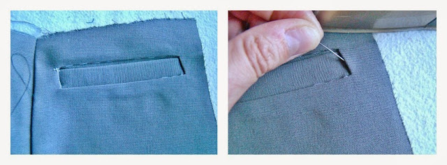 0474506aae Con ayuda de la plancha definimos las esquinas y las preparamos para  coserlas