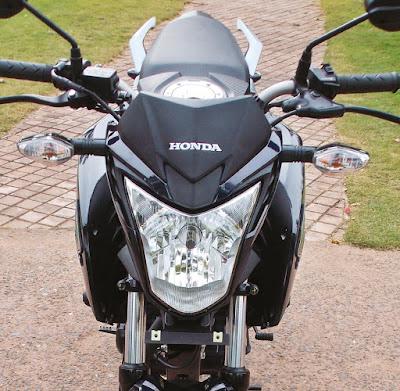Honda CB Hornet 160R fron headlight image