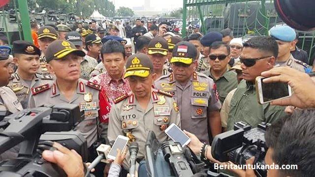 Kapolri Jenderal Tito : Jika Bom Bekasi Terbukti Pengalihan Isu, Saya Akan Mundur