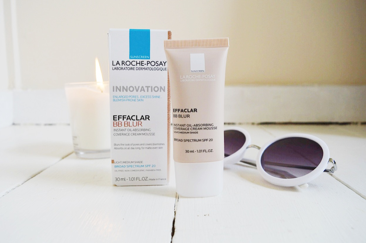 La Roche-Posay Effaclar BB Blur review, beauty bloggers, UK beauty blog, FashionFake blog