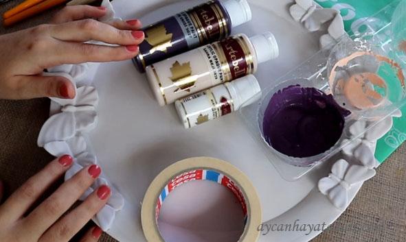 Polyester Tepsi Nasıl Boyanır
