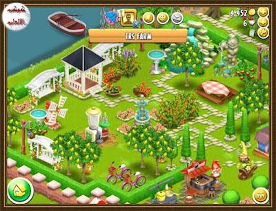 لعبة المزرعة السعيدة هاي داي