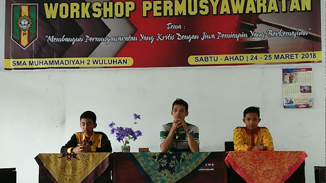 Workshop Permusyawaratan IPM Wuluhan Latih Integritas