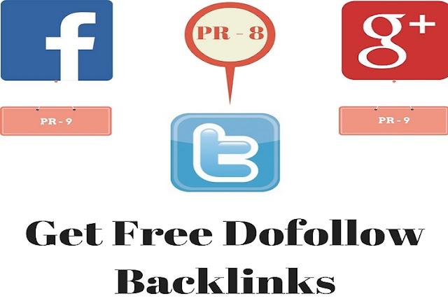 Get Free Dofollow Backlinks
