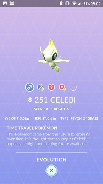 Los modelos de Ho-oh y Celebi ya están en Pokémon GO