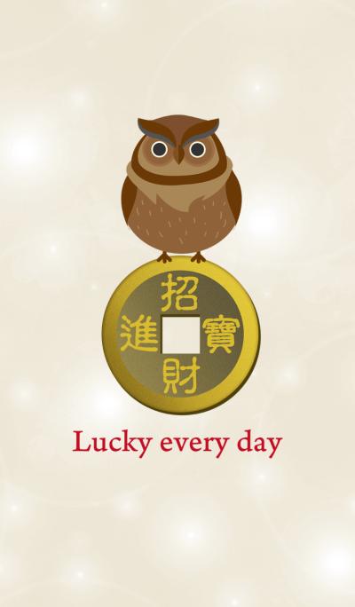 Owl money catching money