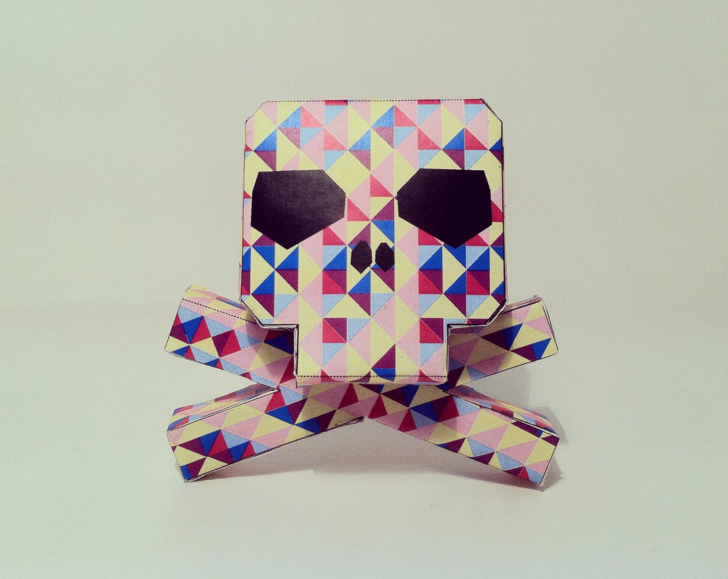 Skully Paper Toy