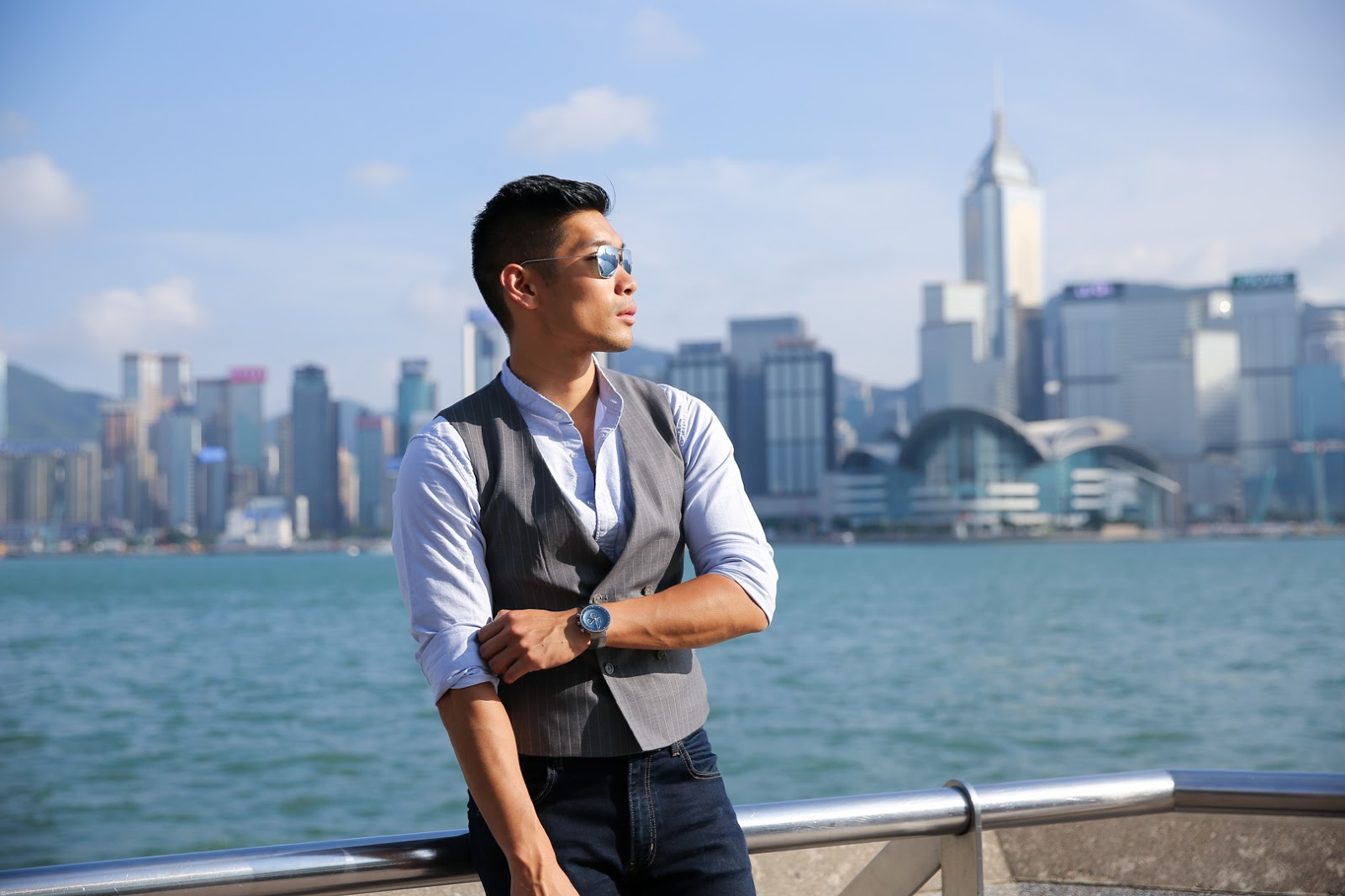 Levitate Style with Movado in Hong Kong