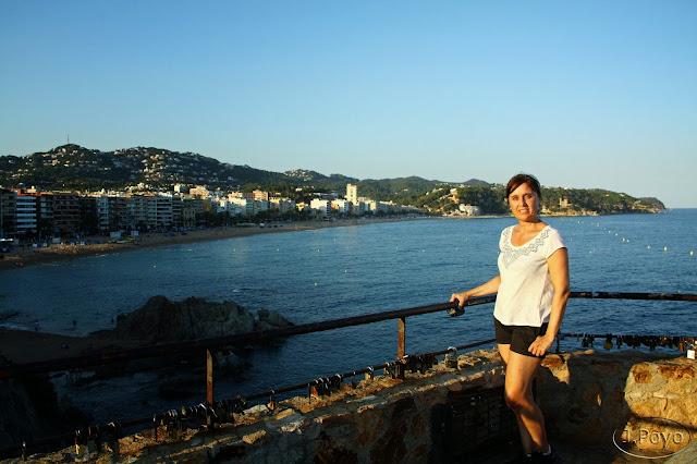 Mirador del monumento a la mujer marinera, Lloret de Mar