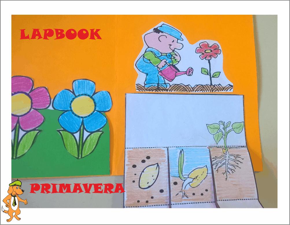 A scuola con poldo lapbook primavera for Maestra renata