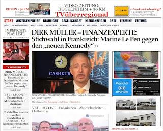 """DIRK MÜLLER - FINANZEXPERTE: Stichwahl in Frankreich: Marine Le Pen gegen den """"neuen Kennedy"""""""