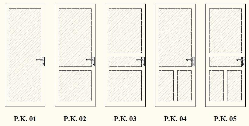"""SINAR OMEGA Aluminium: Pintu Aluminium """"Alexindo"""" Panel Kaca"""