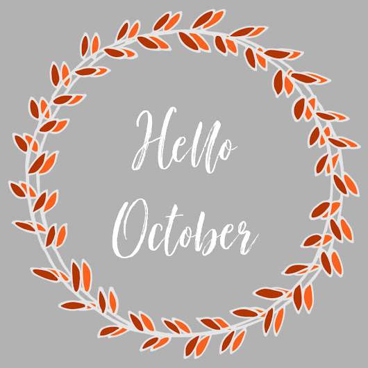 October: Month @ a Glance