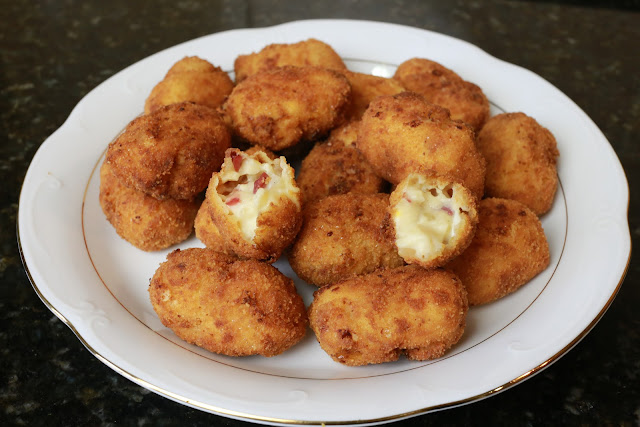 Croquetas de jamón y huevo duro