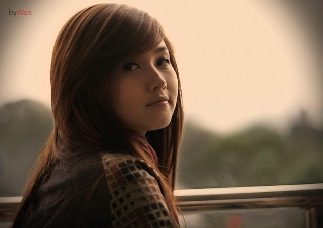 Hình ảnh hot girl Tâm tít - nét đẹp Hà Thành