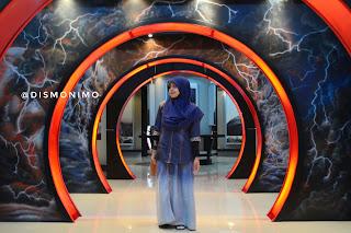 Spot foto ikonik Museum Gunung Merapi