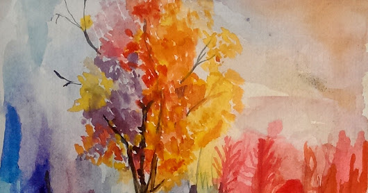 water colour landscapes. ~          WELCOME TO OKI IBRAHIM'S ART BLOG