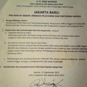 Janji Politik Pro Rakyat Miskin Jokowi Dilabrak Ahok, Jokowi Kok Diam ?