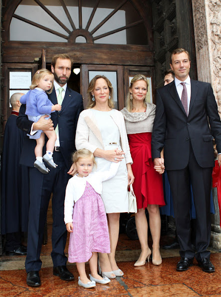 Princess Luisa Irene Constance Anna Maria of Bourbon-Parma was born on May 9, 2012 in The Hague