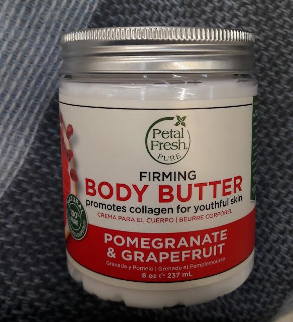 Petal fresh ujędrniające masło do ciała granat i grejpfrut