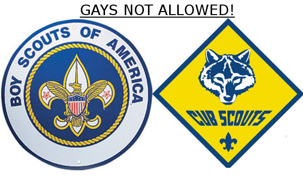 Gays Not Allowed Boy Scouts Of America