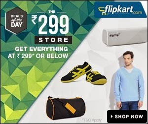 Rs.299 or less Store for Men's & Women's Clothing | Memory Card | Dry Iron | Power Bank | Car Neck Rests | Trimmers @ Flipkart