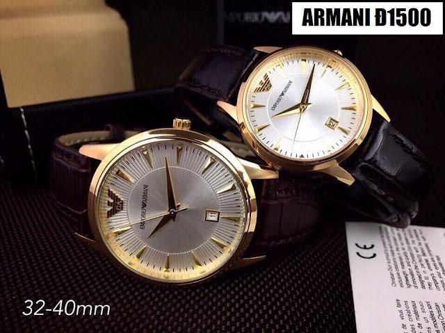 đồng hồ đeo tay armani đ1500
