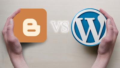Lebih Bagus Mana Wordpress Atau Blogspot?