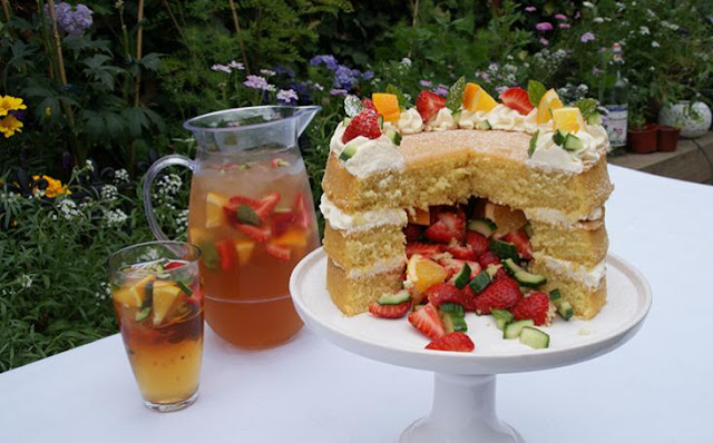 SUMMER PUNCH CAKE